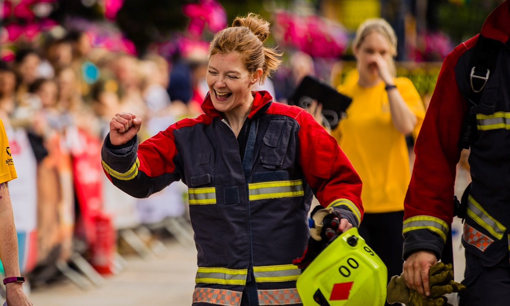 Firefighter, Bec Meachin is on a mission; to consistently better herself, mentally and physically, and to support those training to be Firefighters in doing the same.
