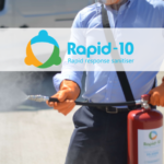 CheckFire have introduced Rapid-10, a new portable sanitising solution with antimicrobial properties for protection of hard surfaces.