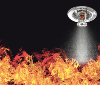 Ceramic Glazing and sprinklers could offer alternative fire protection